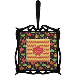 Cinco De Mayo Trivet with Handle (Personalized)