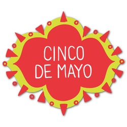 Cinco De Mayo Graphic Decal - Custom Sized (Personalized)