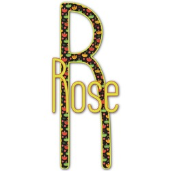 Cinco De Mayo Name & Initial Decal - Custom Sized (Personalized)