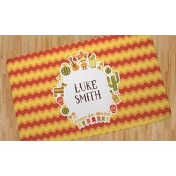 Fiesta - Cinco de Mayo Area Rug (Personalized)