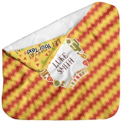 Fiesta - Cinco de Mayo Baby Hooded Towel (Personalized)