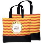 Fiesta - Cinco de Mayo Beach Tote Bag (Personalized)