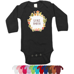 Fiesta - Cinco de Mayo Bodysuit - Long Sleeves (Personalized)