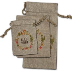 Fiesta - Cinco de Mayo Burlap Gift Bags (Personalized)