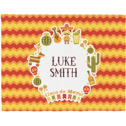 Fiesta - Cinco de Mayo Woven Fabric Placemat - Twill w/ Name or Text