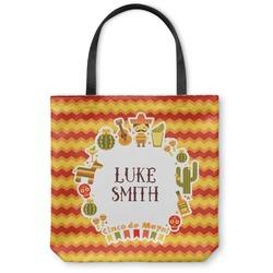 Fiesta - Cinco de Mayo Canvas Tote Bag (Personalized)