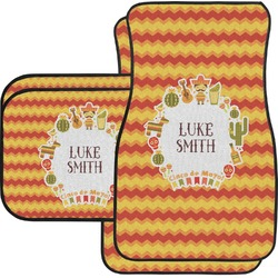 Fiesta - Cinco de Mayo Car Floor Mats Set - 2 Front & 2 Back (Personalized)