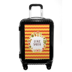 Fiesta - Cinco de Mayo Carry On Hard Shell Suitcase (Personalized)