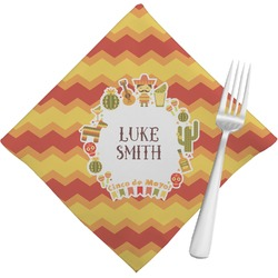 Fiesta - Cinco de Mayo Napkins (Set of 4) (Personalized)