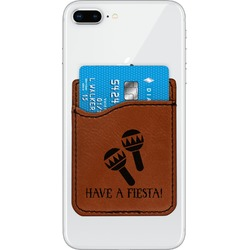 Fiesta - Cinco de Mayo Leatherette Phone Wallet (Personalized)