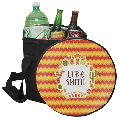 Fiesta - Cinco de Mayo Collapsible Cooler & Seat (Personalized)