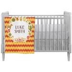 Fiesta - Cinco de Mayo Crib Comforter / Quilt (Personalized)