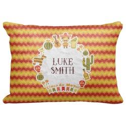 "Fiesta - Cinco de Mayo Decorative Baby Pillowcase - 16""x12"" (Personalized)"