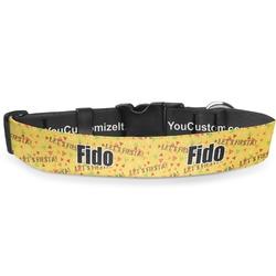 Fiesta - Cinco de Mayo Deluxe Dog Collar (Personalized)