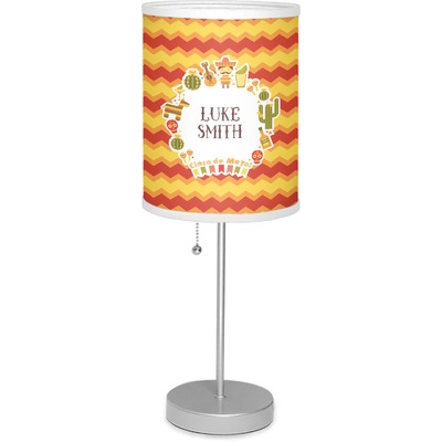 """Fiesta - Cinco de Mayo 7"""" Drum Lamp with Shade (Personalized)"""