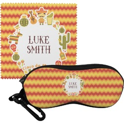 Fiesta - Cinco de Mayo Eyeglass Case & Cloth (Personalized)