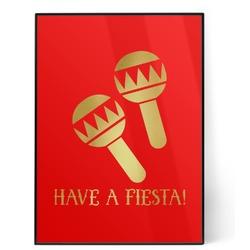 Fiesta - Cinco de Mayo 5x7 Red Foil Print (Personalized)