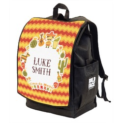 Fiesta - Cinco de Mayo Backpack w/ Front Flap  (Personalized)
