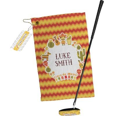 Fiesta - Cinco de Mayo Golf Towel Gift Set (Personalized)