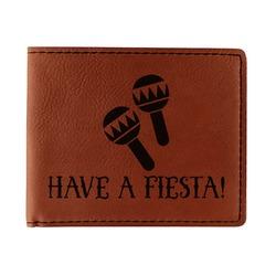 Fiesta - Cinco de Mayo Leatherette Bifold Wallet (Personalized)