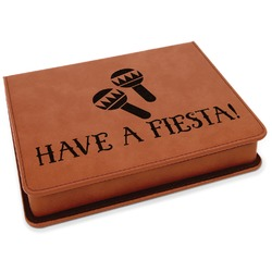 Fiesta - Cinco de Mayo Leatherette 4-Piece Wine Tool Set (Personalized)