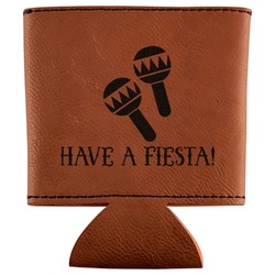 Fiesta - Cinco de Mayo Leatherette Can Sleeve (Personalized)