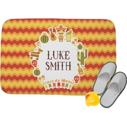 Fiesta - Cinco de Mayo Memory Foam Bath Mat (Personalized)
