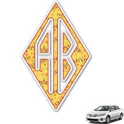Fiesta - Cinco de Mayo Monogram Car Decal (Personalized)