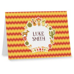 Fiesta - Cinco de Mayo Note cards (Personalized)