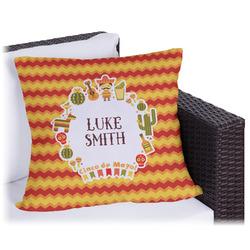 Fiesta - Cinco de Mayo Outdoor Pillow (Personalized)