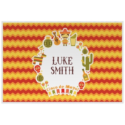 Fiesta - Cinco de Mayo Laminated Placemat w/ Name or Text
