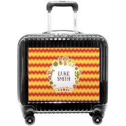 Fiesta - Cinco de Mayo Pilot / Flight Suitcase (Personalized)
