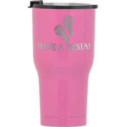 Fiesta - Cinco de Mayo RTIC Tumbler - Pink (Personalized)