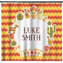 Fiesta - Cinco de Mayo Shower Curtain (Personalized)