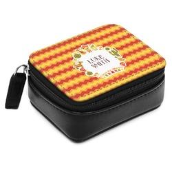 Fiesta - Cinco de Mayo Small Leatherette Travel Pill Case (Personalized)