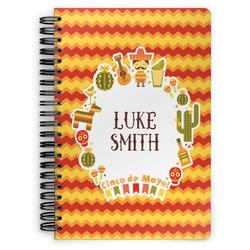 Fiesta - Cinco de Mayo Spiral Notebook (Personalized)