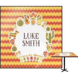 Fiesta - Cinco de Mayo Square Table Top (Personalized)