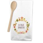 Fiesta - Cinco de Mayo Waffle Weave Kitchen Towel (Personalized)