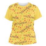 Fiesta - Cinco de Mayo Women's Crew T-Shirt (Personalized)