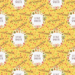 Fiesta - Cinco de Mayo Wrapping Paper (Personalized)