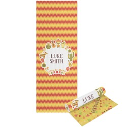 Fiesta - Cinco de Mayo Yoga Mat - Printable Front and Back (Personalized)