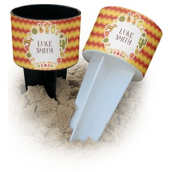 Fiesta - Cinco de Mayo Beach Spiker Drink Holder (Personalized)