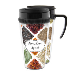 Spices Acrylic Travel Mugs (Personalized)