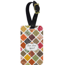 Spices Aluminum Luggage Tag (Personalized)