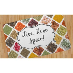 Spices Area Rug - 5'x8' (Personalized)