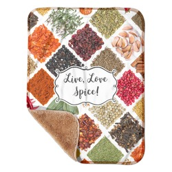 """Spices Sherpa Baby Blanket 30"""" x 40"""" (Personalized)"""