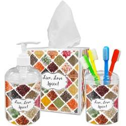 Spices Bathroom Accessories Set (Personalized)