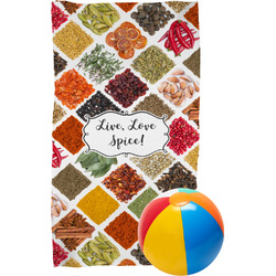 Spices Beach Towel (Personalized)