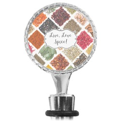 Spices Wine Bottle Stopper (Personalized)