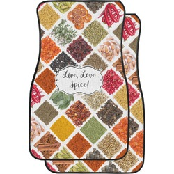 Spices Car Floor Mats (Front Seat) (Personalized)